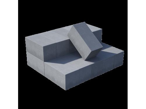 Блок полнотелый пескобетонный