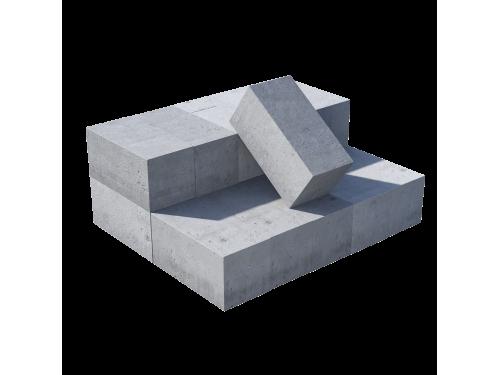 Блок полнотелый пескоцементный