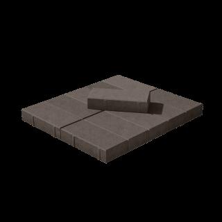 Плитка Брусчатка коричневая