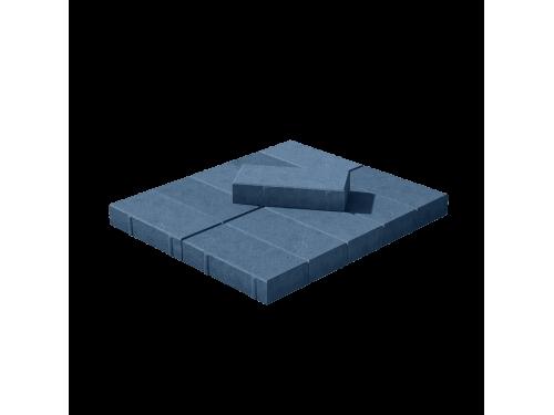 Тротуарная плитка Брусчатка синяя