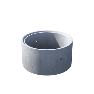 Кольцо стеновое с замком КС 10.6ч железобетон