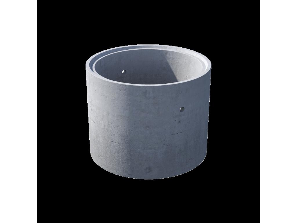 Кольцо стеновое с замком КС 10.9ч железобетон