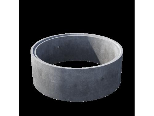 Кольцо стеновое с замком КС 15.6ч пескобетон
