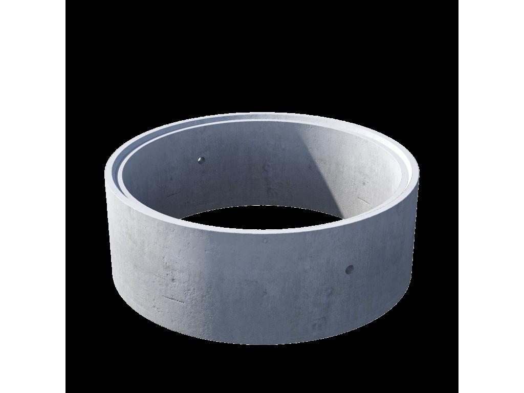 Кольцо стеновое с замком КС 15.6ч железобетон