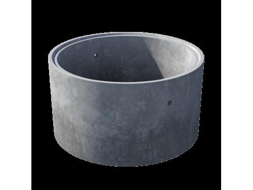 Кольцо стеновое с замком КС 15.9ч пескобетон