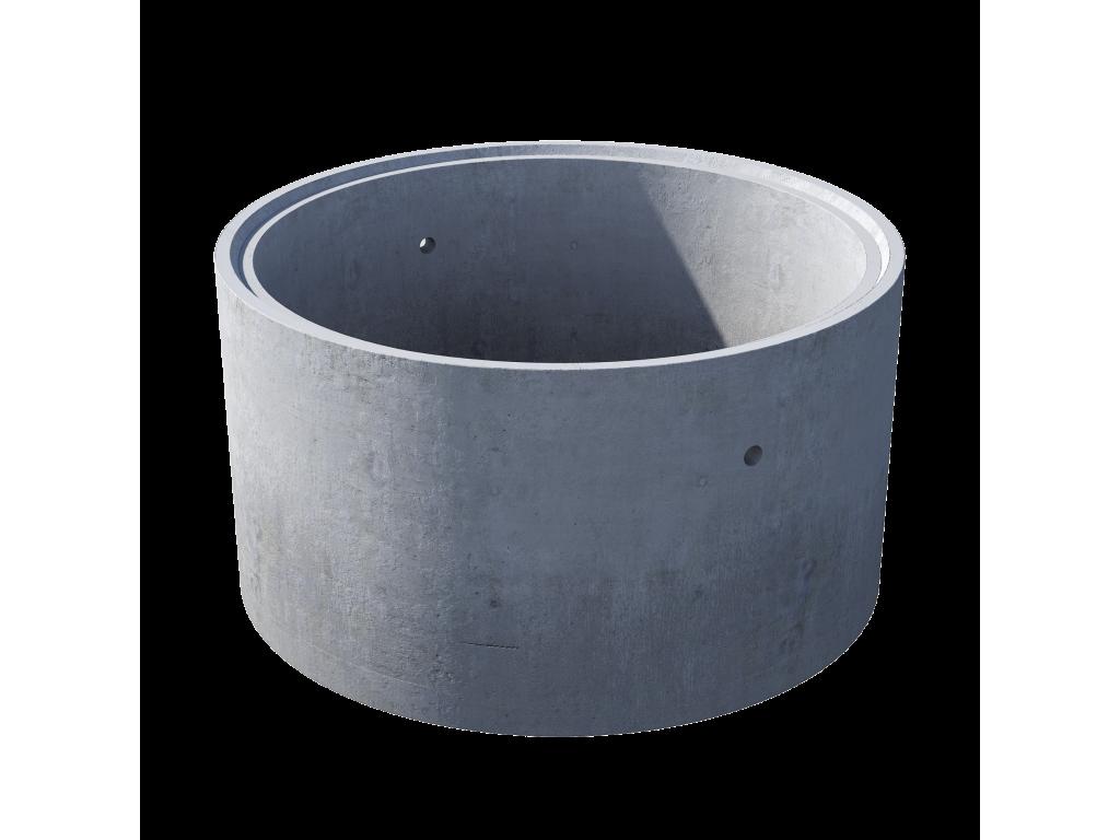 Кольцо стеновое с замком КС 15.9ч железобетон