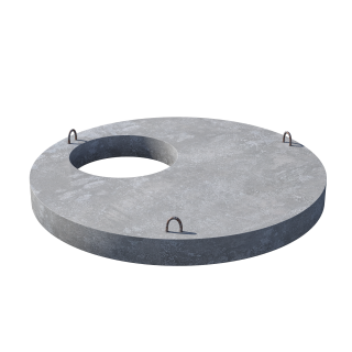 Плита перекрытия (крышка) ПП 15.1 пескобетон