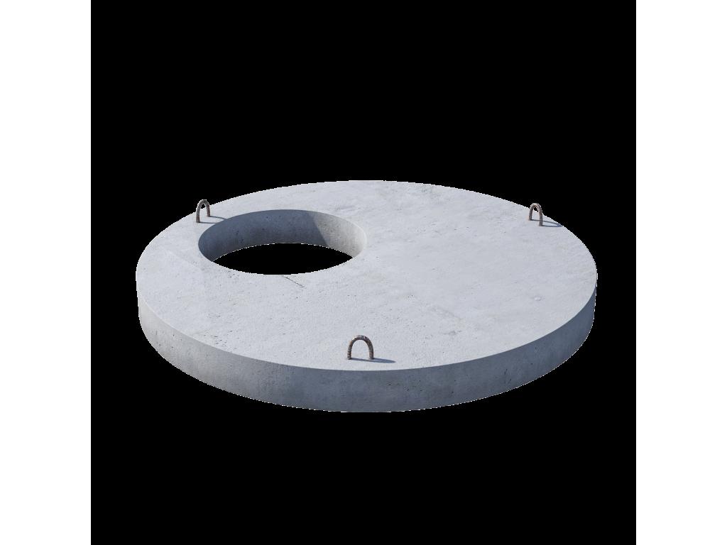 Плита перекрытия (крышка) ПП 15.1 железобетон