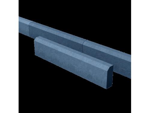 Поребрик дорожный тротуарный синий 1000*200*80 мм