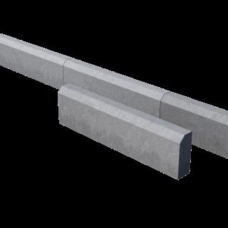 Поребрик дорожный тротуарный серый 780*200*80 мм