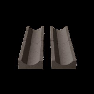 Водосток (лоток садовый) коричневый