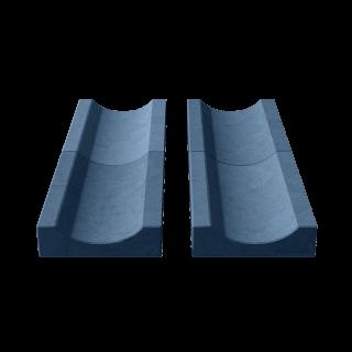 Водосток (лоток садовый) синий