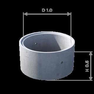 Кольцо стеновое с замком КС 10.6ч