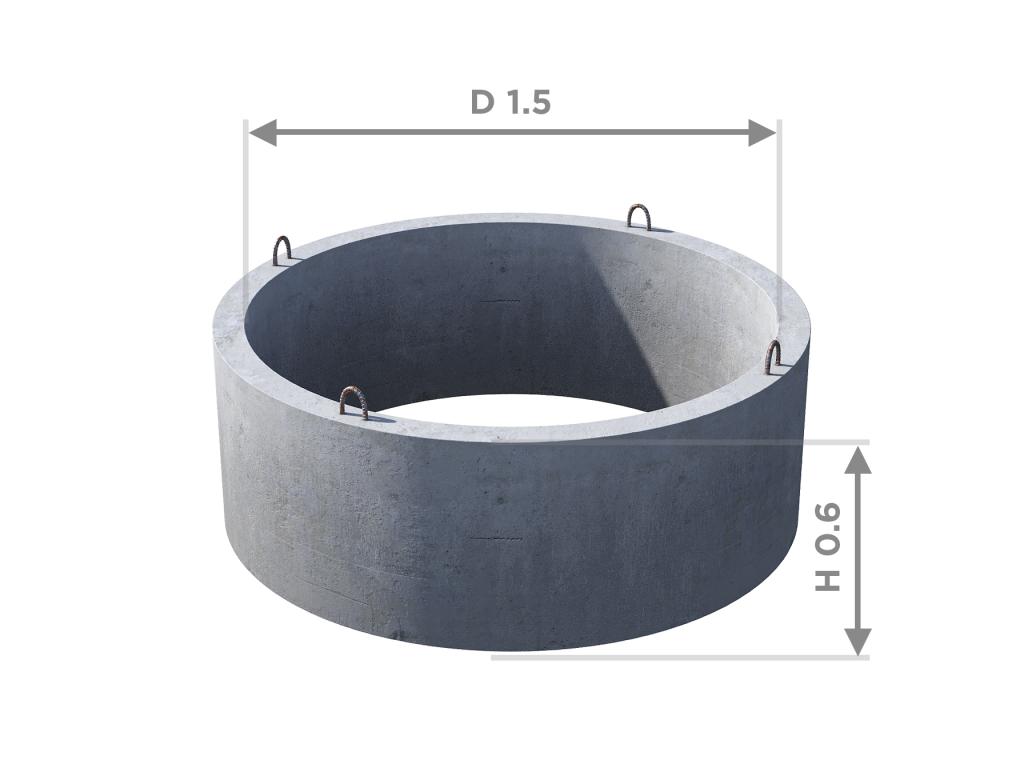 Кольцо стеновое КС 15.6