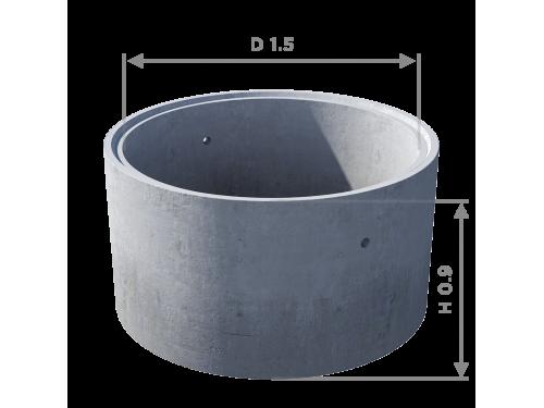 Кольцо стеновое с замком КС 15.9ч