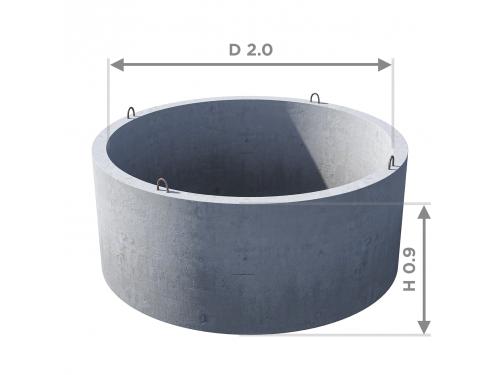 Кольцо стеновое КС 20.9