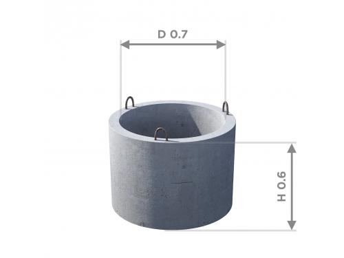 Кольцо стеновое КС 7.6
